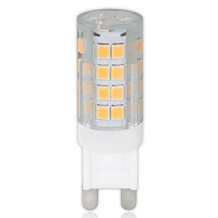 luxrite lr24625 3 7w t4 led light bulb 120v g9 led equivalent to 40w g9 halogen bulb cool. Black Bedroom Furniture Sets. Home Design Ideas