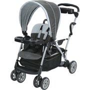 Graco RoomFor2 Click Connect Stand and Ride Double Stroller, Glacier