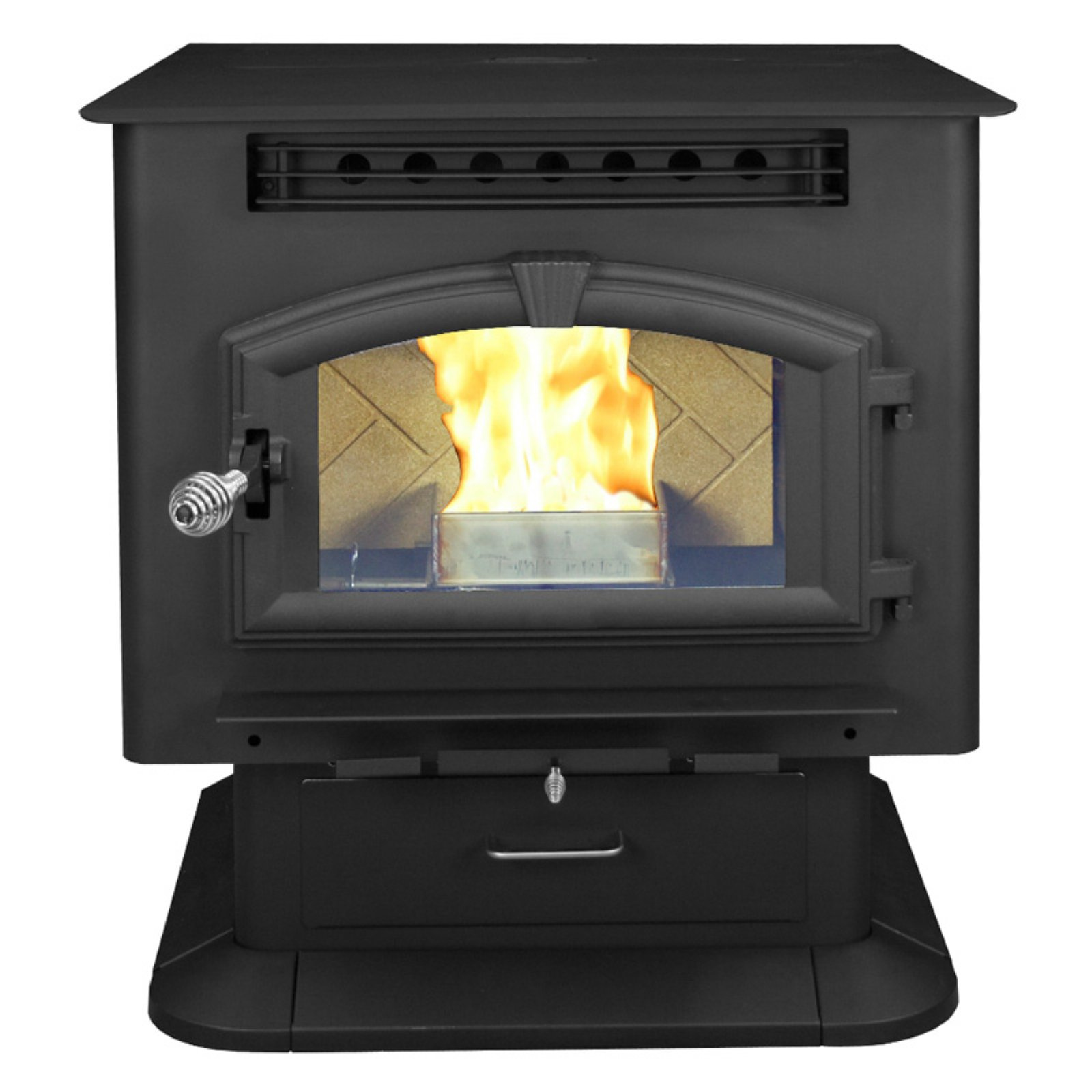 US Stove Multi Fuel Pedestal Stove by US Stove