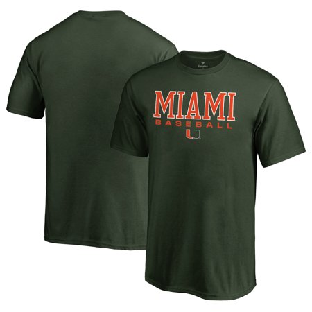 Miami Hurricanes Fanatics Branded Youth True Sport Baseball T-Shirt - - Hurricanes Baseball