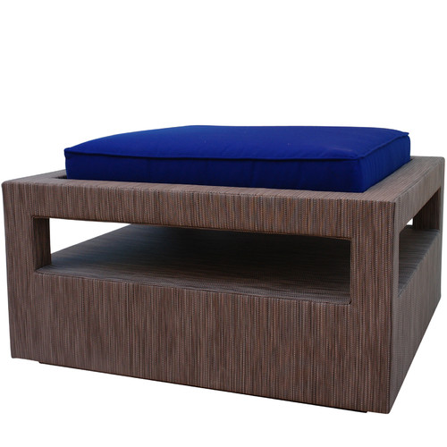Somers Furniture Calm, Cool, Composed Ottoman with Cushion