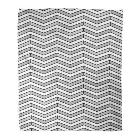 Groovy Ashleigh Throw Blanket Warm Cozy Print Flannel Zigzag Lines Jagged Stripes Pattern Triangular Waves Chevrons Herringbone Comfortable Soft For Bed Sofa Theyellowbook Wood Chair Design Ideas Theyellowbookinfo