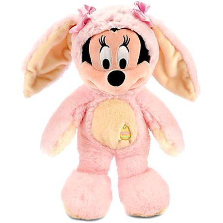 Disney Mickey Mouse Minnie Mouse Bunny Plush [Pink & Yellow]