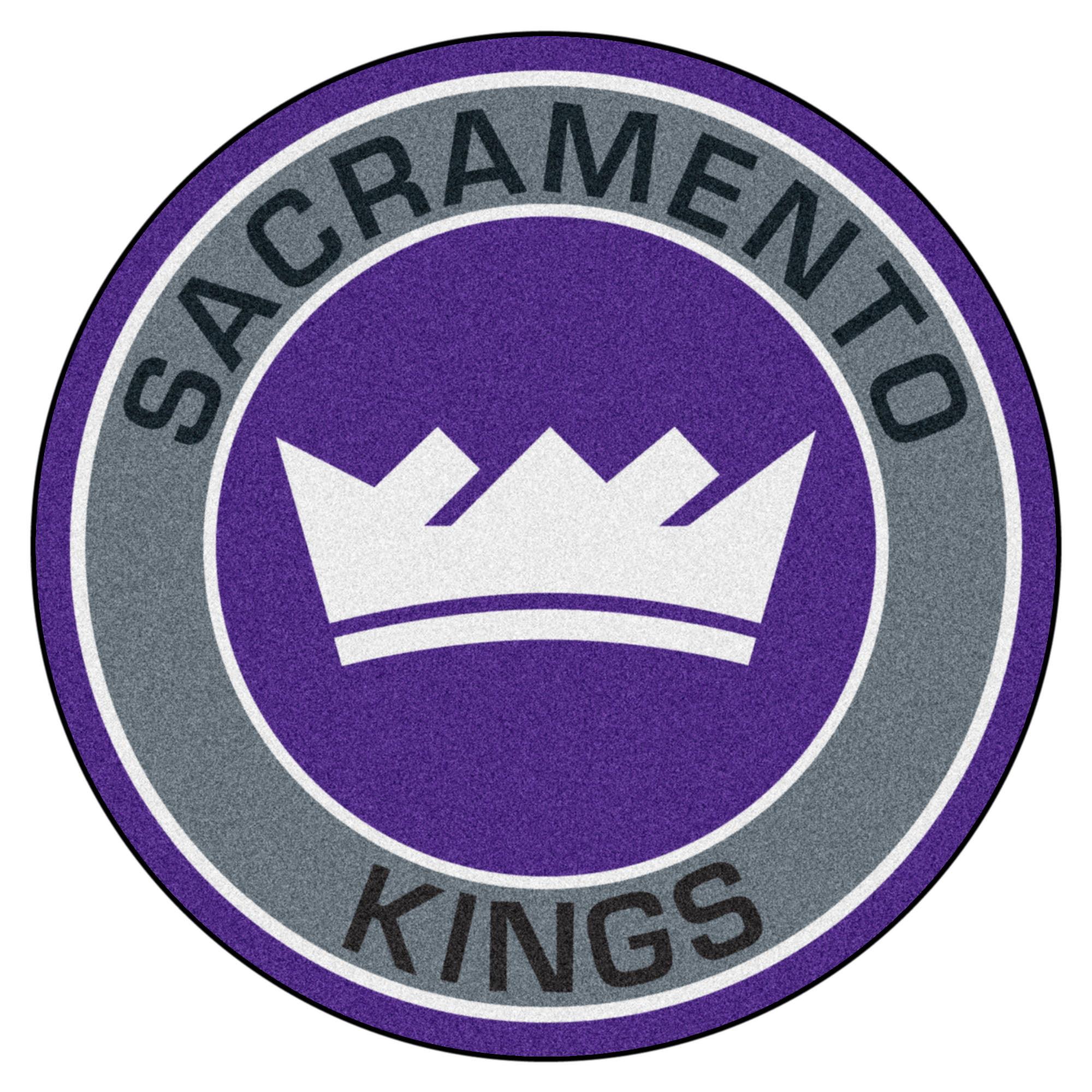 "NBA - Sacramento Kings Roundel Mat 27"" diameter"