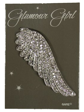 1150e9876b53 Product Image Glamour Girl Bling Pin - High Quality Fashion Pin w/  Rhinestones -Angel Wing