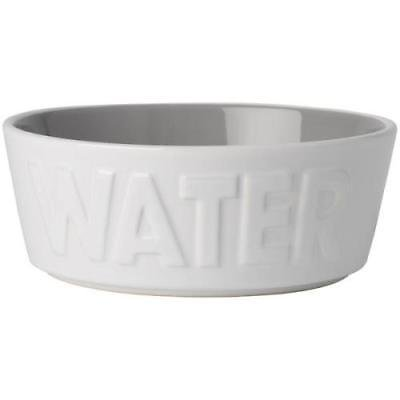 Pet Rageous Designs White & Gray 2.5-Cup Basics Pet Water Bowl Designs Pet Bowl