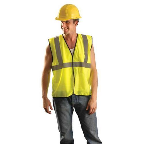 OCCUNOMIX ECO-GC-YS/M High Visibility Vest, S/M, Yellow