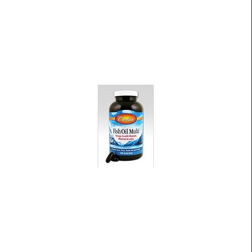 Fish Oil Multi Carlson Laboratories 60 Softgel
