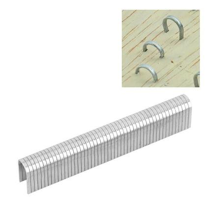 WALFRONT 1000pcs Stainless Steel Staples Nails Fasteners for Handheld Staple Gun Stapler, Stainless Steel Staples, Staple Fasteners