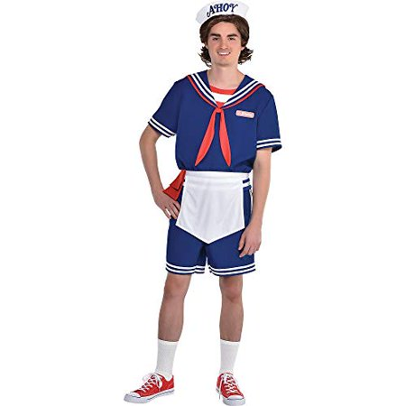 Sin City 2 Halloween Costumes (Party City Steve Scoops Ahoy Halloween Costume for Men, Stranger Things with)