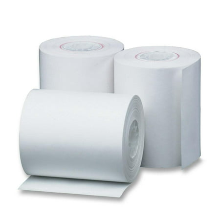 2 1/4 in. x 80 ft. Thermal Paper Rolls, (50 Rolls), Works for Hypercom I.C.E.5500, Hypercom I.C.E.6500, Hypercom T7P-T, LinkPack 3000
