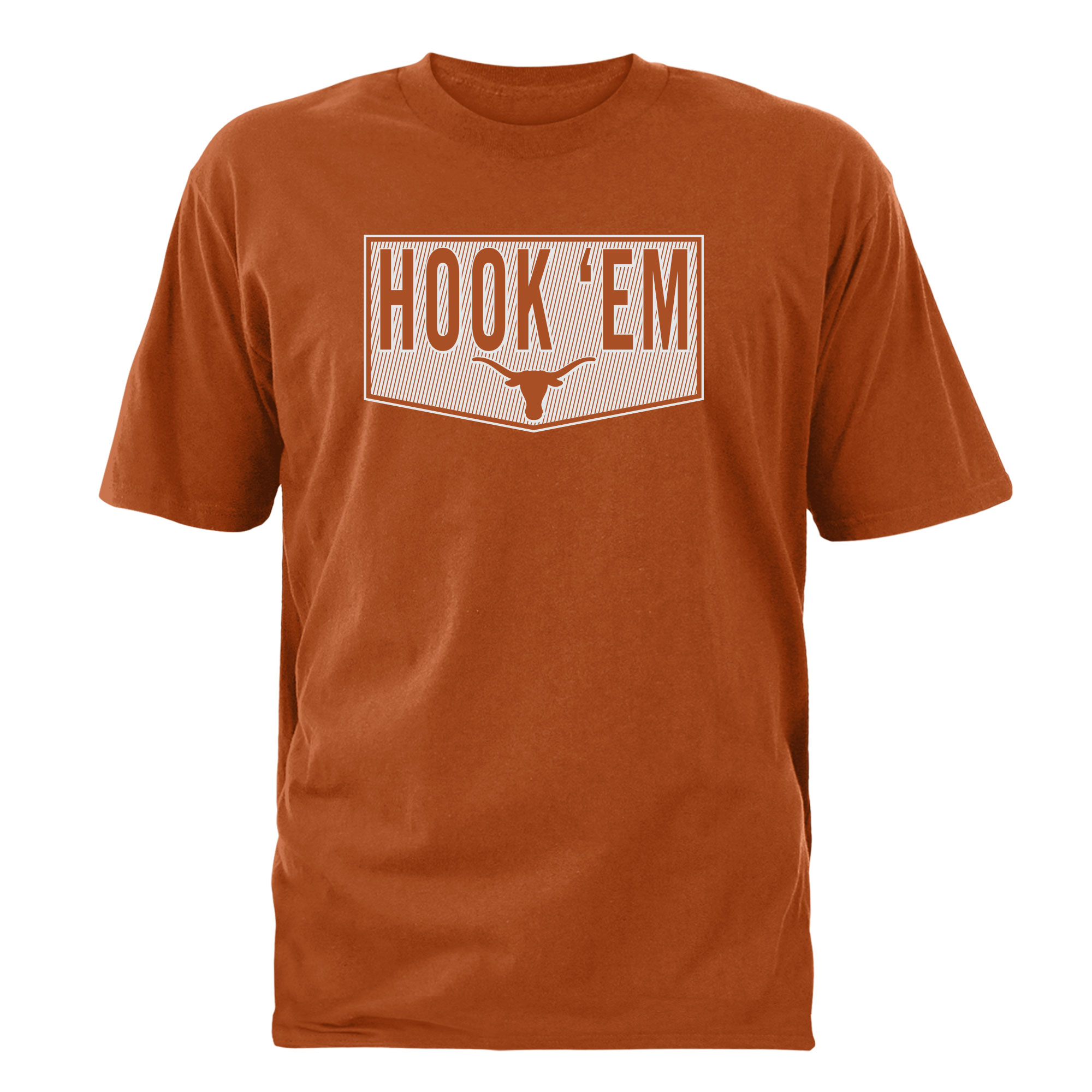 Men's Texas Orange Texas Longhorns Raw Hide T-Shirt