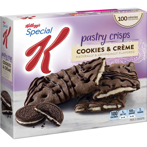 Kellogg's Special K Cookies & Creme Pastry Crisps, 0.88 oz, 5 count