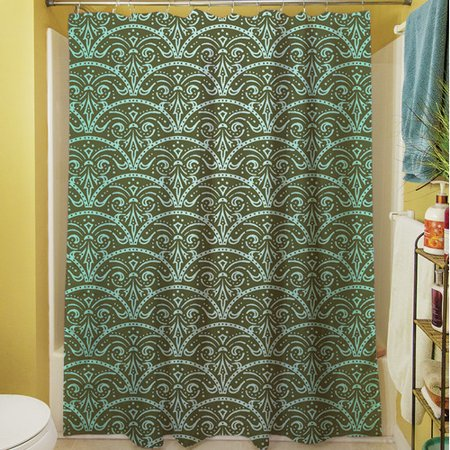 Manual Woodworkers & Weavers Dream Big Arches Shower Curtain