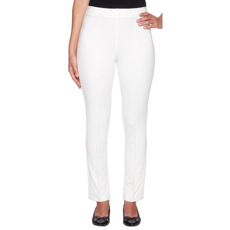 Ruby Road Favorites Petite Solid Stretch Pull On Pants Mode Off Road Pants