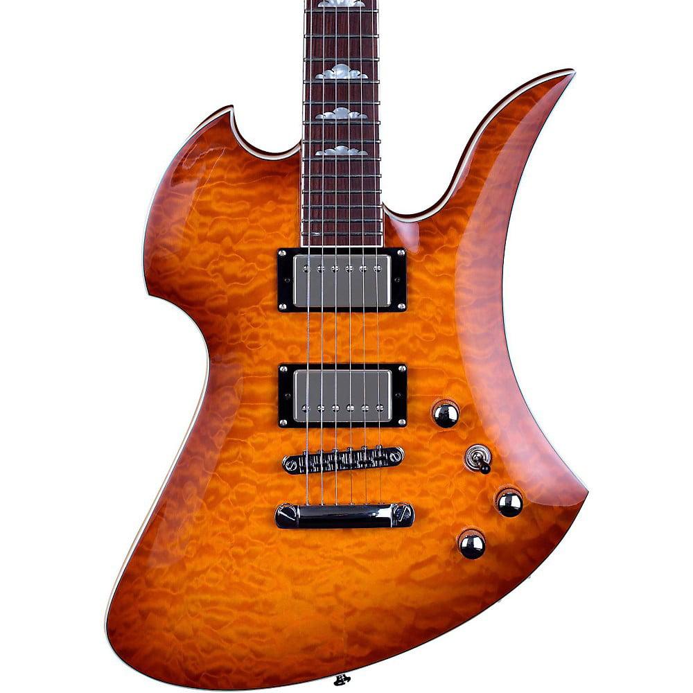 BC Rich Mk5 Mockingbird Electric Guitar (Amber Burst) by B.C. Rich