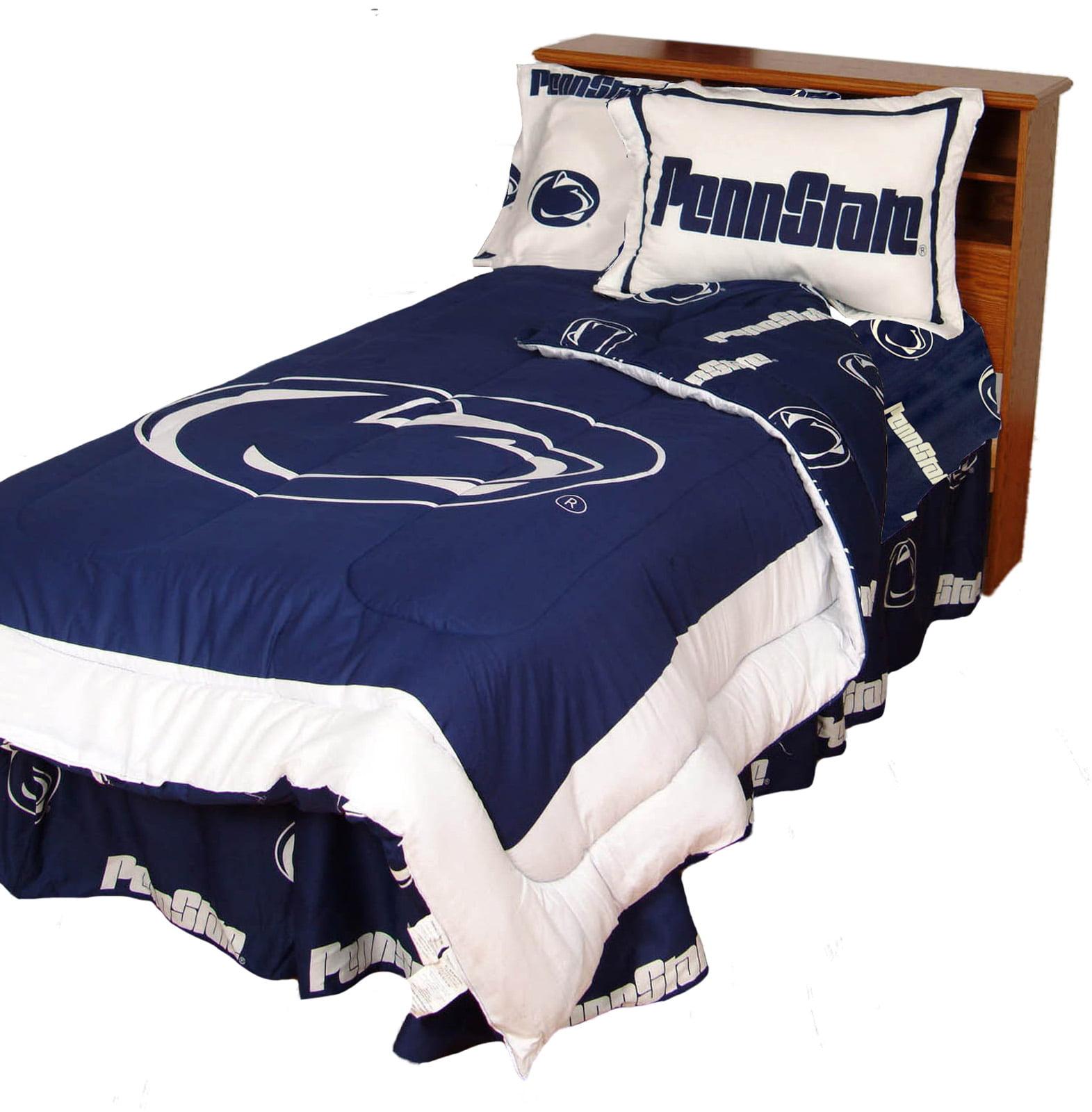 Penn State Nittany Lions 2 Pc Comforter Set, 1 Comforter, 1 Sham, Twin