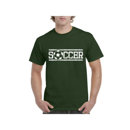 Soccer Men's Short Sleeve T-Shirt