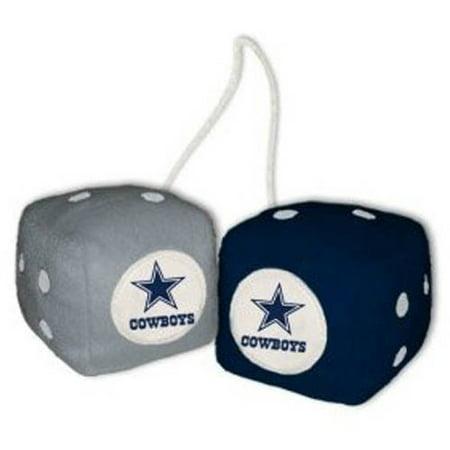 Nfl Dallas Cowboys Fan - NFL Dallas Cowboys Football Team Fuzzy Dice