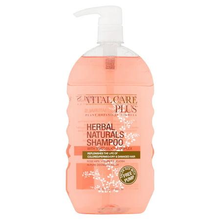 Vital Care Plus Herbal Naturals Shampoo, 40 fl