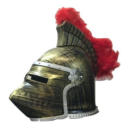 Antique Bronze Gold Medieval Pointed Knight Helmet Hounskull Crusader Costume](Brobee Costume)