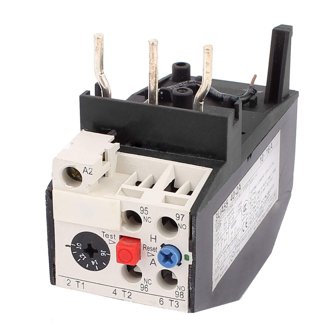 Unique Bargains 3ua55 40 2a 10 16a 2no 2nc Motor Protector Electric Thermal Overload Relay Wiring Diagram