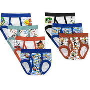 Disney Mickey and Friends Toddler Boy Underwear, 7-Pack