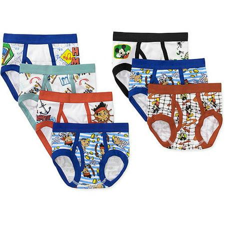 Disney Mickey and Friends Toddler Boy Underwear, 7-Pack - Walmart.com