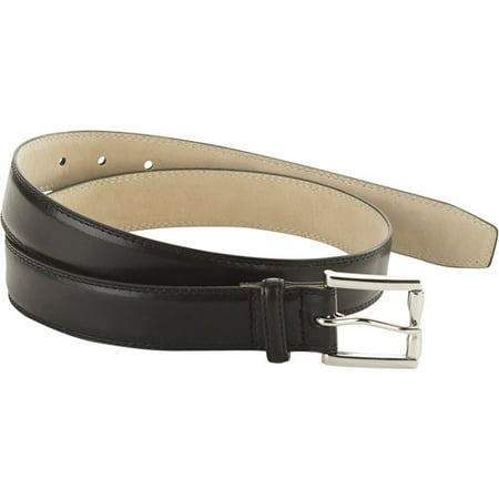 George Men's Dress Belt with Double Stitching