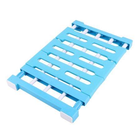 Family Plastic Retractable Nail-free Sundries Storage Partition Shelf Sky - Retractable Shelf