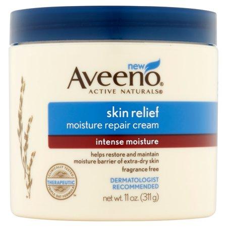 Aveeno Skin Relief Intense Crème Réparatrice d'humidité, 11 Oz