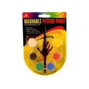 Palmer Poster Paint Set 6 Pot Mini Washable