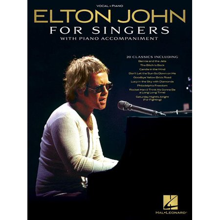 Elton John for Singers: With Piano Accompaniment (Paperback)