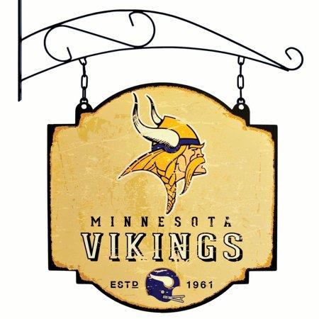 Nfl Pub Sign - Minnesota Vikings Official NFL 16 inch x 16 inch  sign by Winning Streak