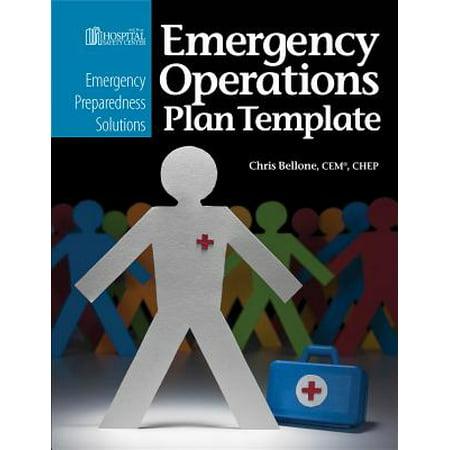 emergency preparedness solutions emergency operations plan template