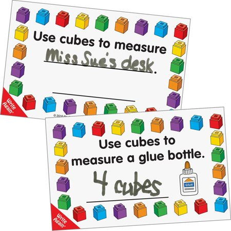 Measuring With Cubes™ - Classroom Objects Cards Set