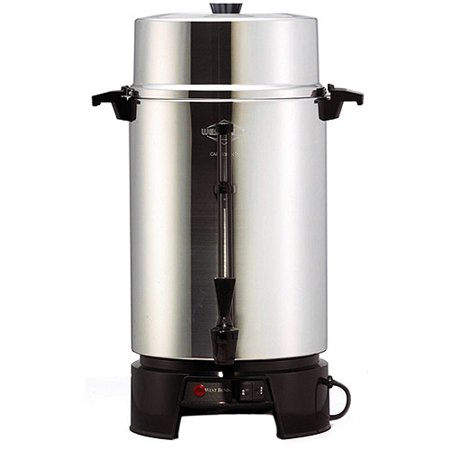 Coffee Maker For Large Groups : West Bend Party Coffee Urn, 100 Cup - Walmart.com