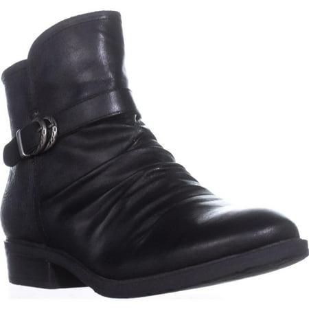 8.5 Ladies Corral Boots - Womens BareTraps Ysidora Flat Comfort Ankle Boots, Black