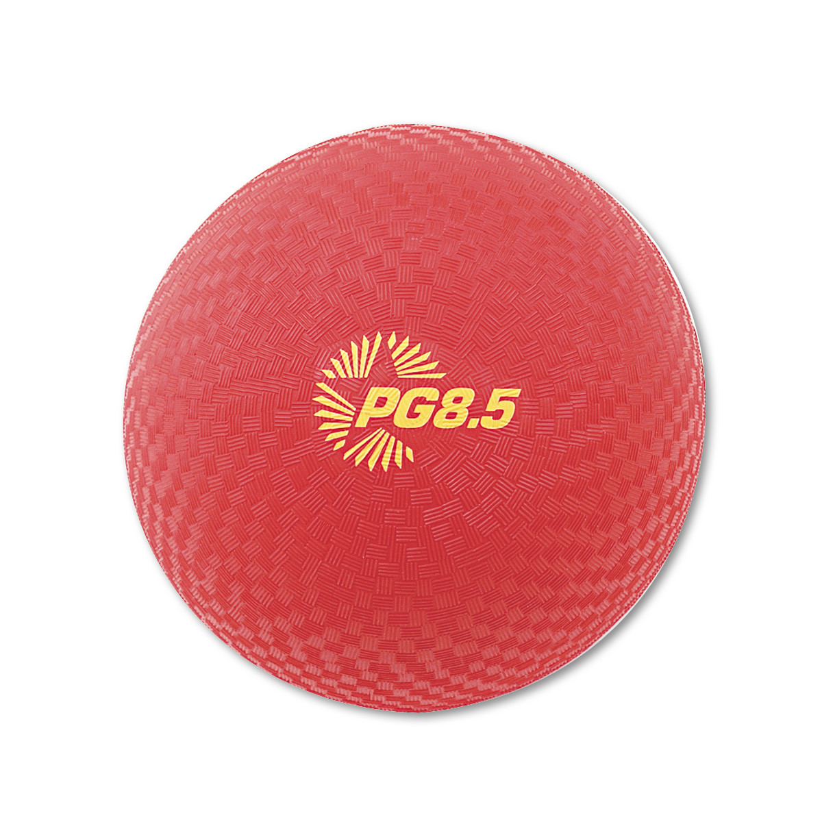 "Champion Sports Playground Ball, 8-1/2"" Diameter, Red -CSIPG85"