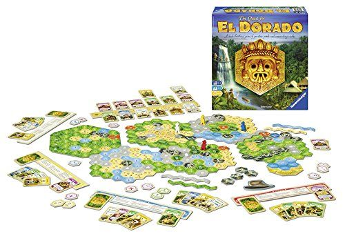 Quest for El Dorado Board Game by Ravensburger (26754) by Ravensburger