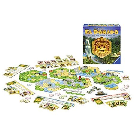 Quest for El Dorado - Board Game by Ravensburger (26754) (El Paso Board Game)