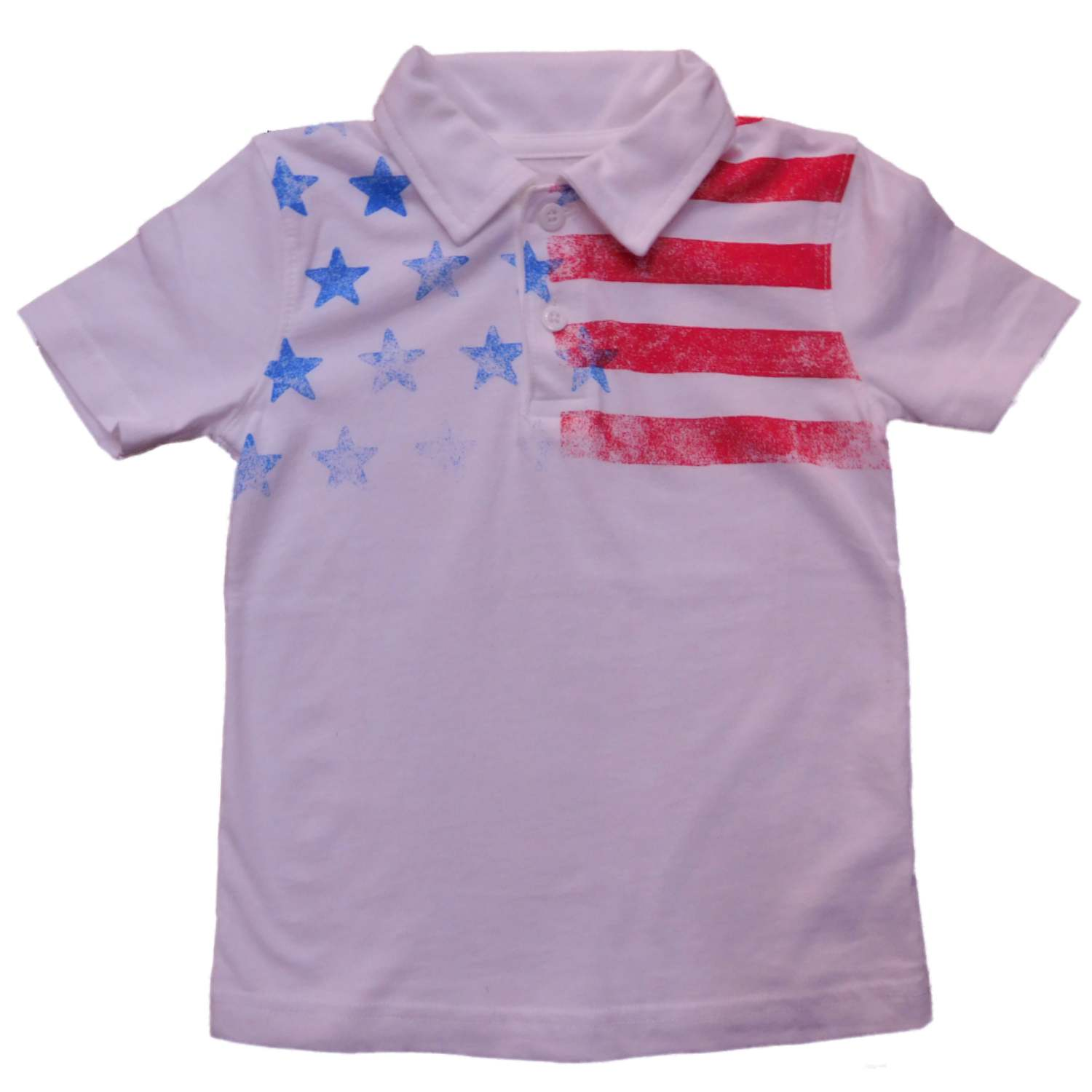 Jumping Beans Jumping Beans Toddler Boys White Patriotic Usa Us
