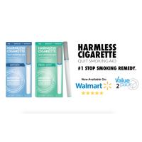 Harmless Cigarette,Oxygen & Mint,Nicorette Alternative & Quit Smoking Aid,2pk