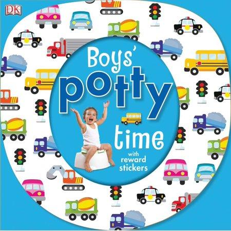 Boys Potty Time (Board Book)