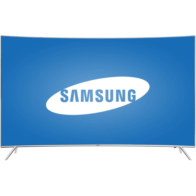 Refurbished Samsung 65 Class  -  4K Ultra HD, Curved, Smart, LED TV  -  2160p, 120Hz (UN65KS8500FXZA)
