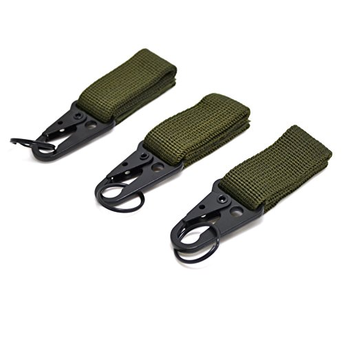 Nylon Carabiner Hook Keychain Clasp Belt Outdoor Tactical Backpack Kits Tra Q8S7
