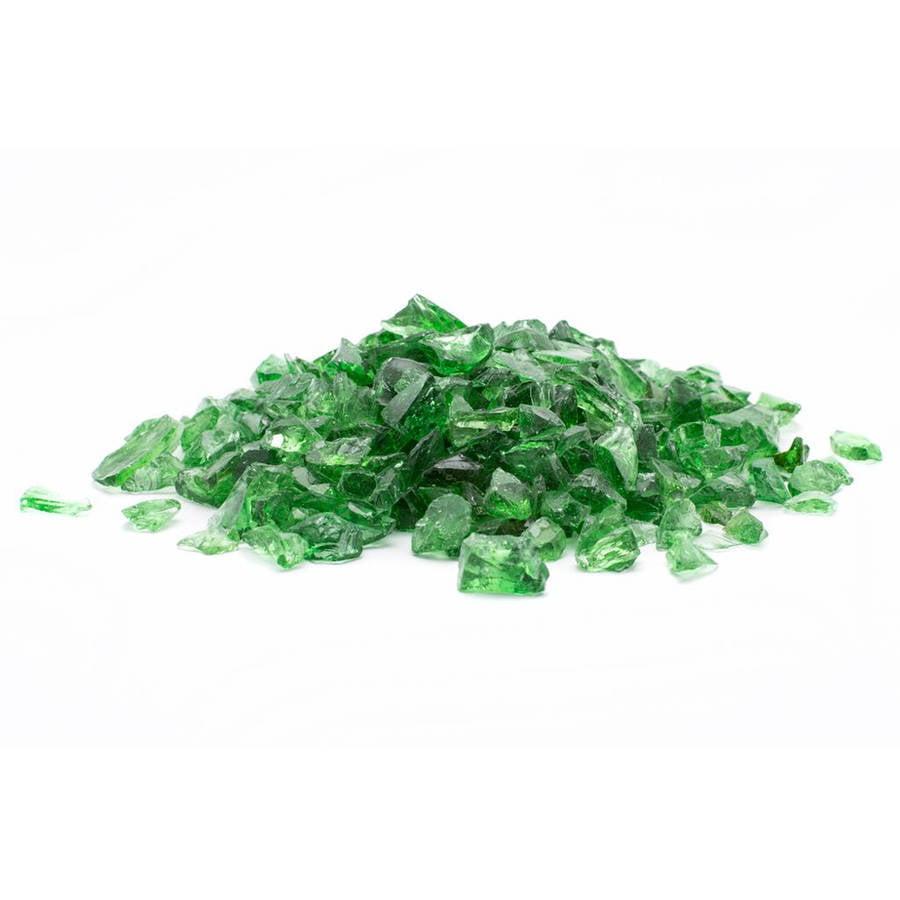 Margo Garden Products DFG10-L01M Ice Clear Dragon 10 lb Medium Landscape Glass 1//2