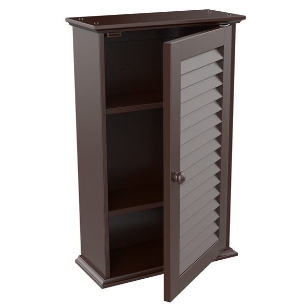 shelving for kitchen cabinets topeakmart bathroom kitchen wall storage cabinet with 1 5186