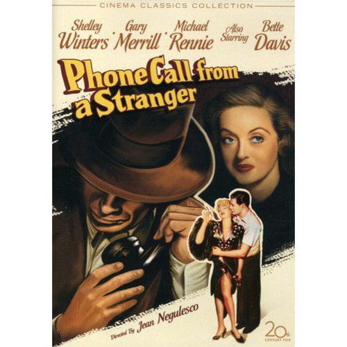 Phone Call From A Stranger (1952) (Full Frame)