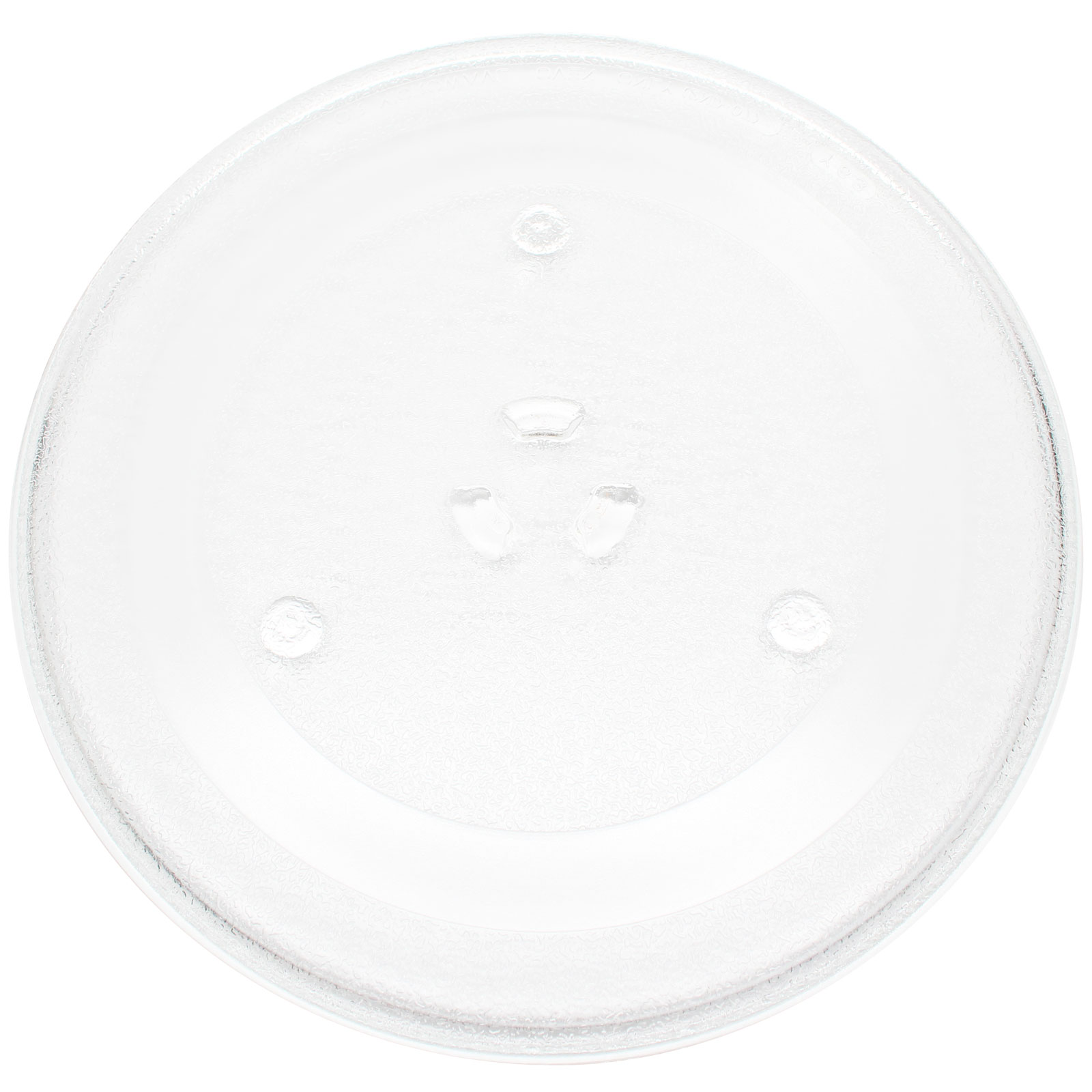 """2-Pack Replacement Samsung MO720W Microwave Glass Plate - Compatible Samsung DE74-20102 Microwave Glass Turntable Tray - 11 1/4"""" (285mm) - image 2 de 4"""